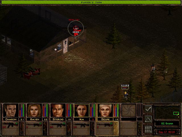 jagged alliance 2 battle