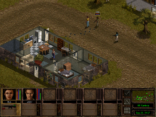 jagged alliance 2 explore